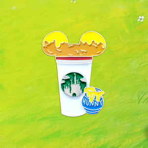 Winnie the Pooh Castle Cup Pin