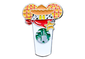 Woody Castle Cup Pin