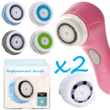 Repalcement Brush Head And Clarisonic Twin Pack
