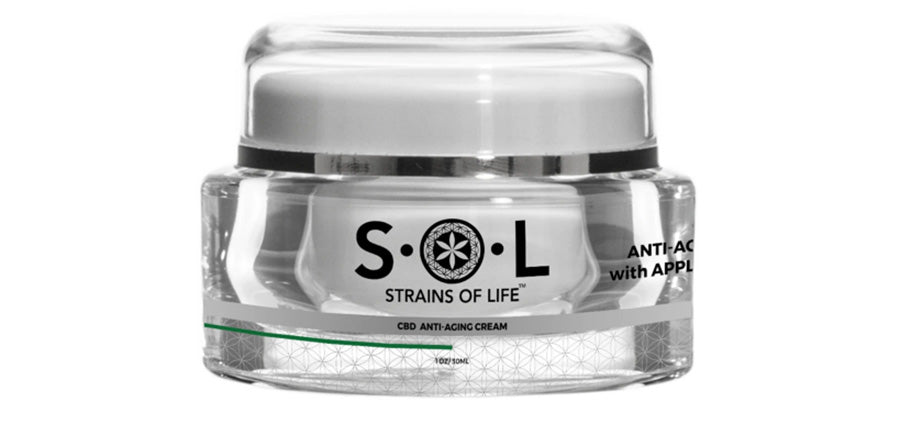 cbd eye cream from sol.md. CBD anti-aging cream for sale.