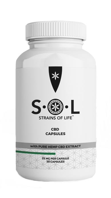 cbd capsules, pure hemp extract. 25mg per capsule. Buy cbd capsules for pain relief. CBD pills for anxiety & stress.