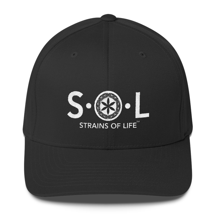 S.O.L Logo Fitted Cap