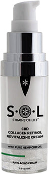 S•O•L CBD COLLAGEN RETINOL REVITALIZING CREAM