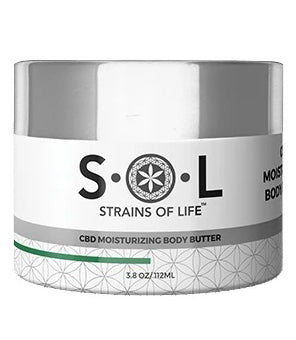 S•O•L CBD MOISTURIZING BODY BUTTER
