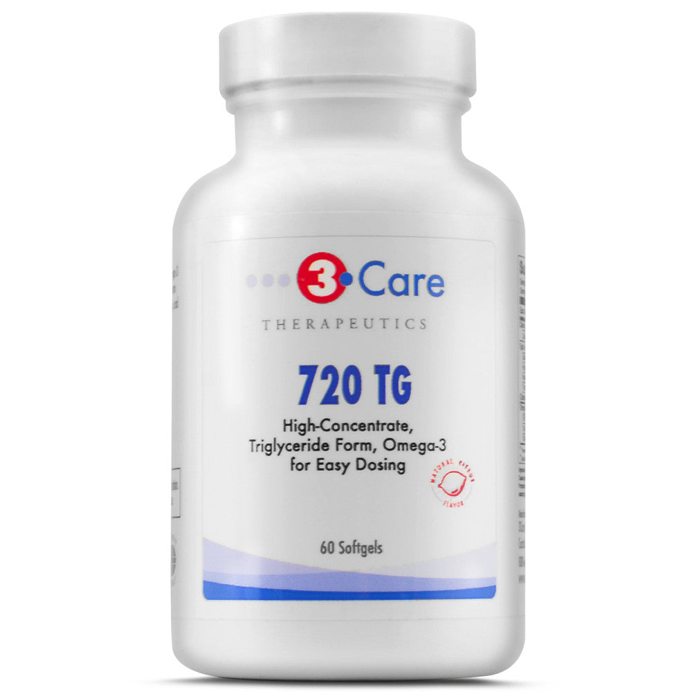 3Care Omega-3  720TG Triglyceride Fish Oil 720mg EPA / DHA