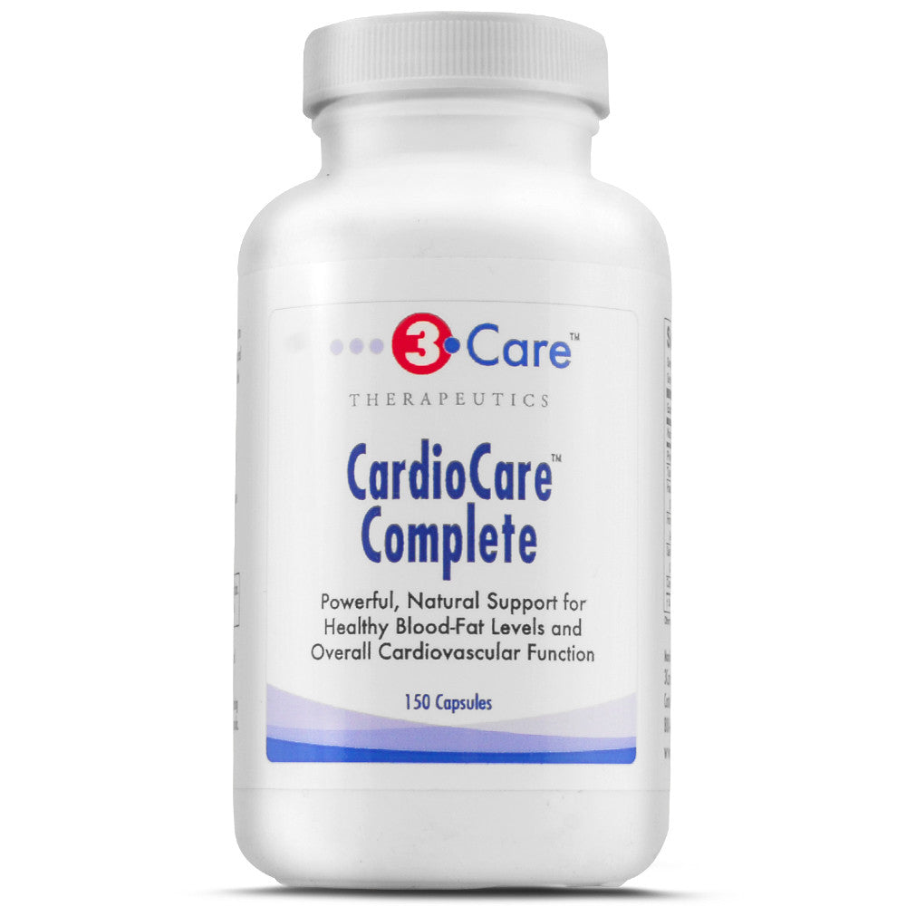 3Care CardioCare Heart Health Cardiovascular Herbal Supplement CoQ10