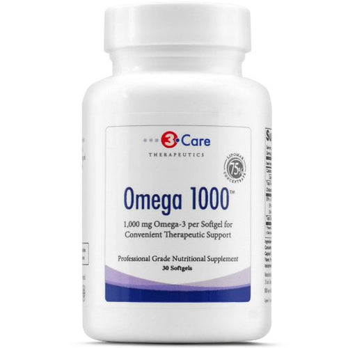 3Care Omega 1000 1-a-day Fish Oil 1,000mg of EPA and DHA per capsule for total health maintenance