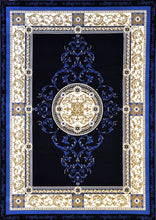 A801 Dark Blue Area Rug - Rug Tycoon