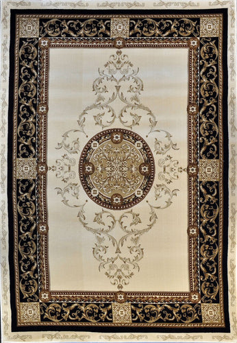 A801 Ivory Area Rug - Rug Tycoon