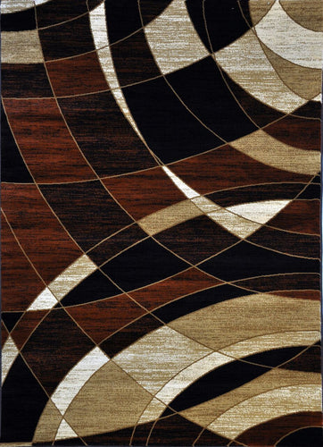 A803 Brown Area Rug