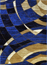 A803 Dark Blue Area Rug - Rug Tycoon