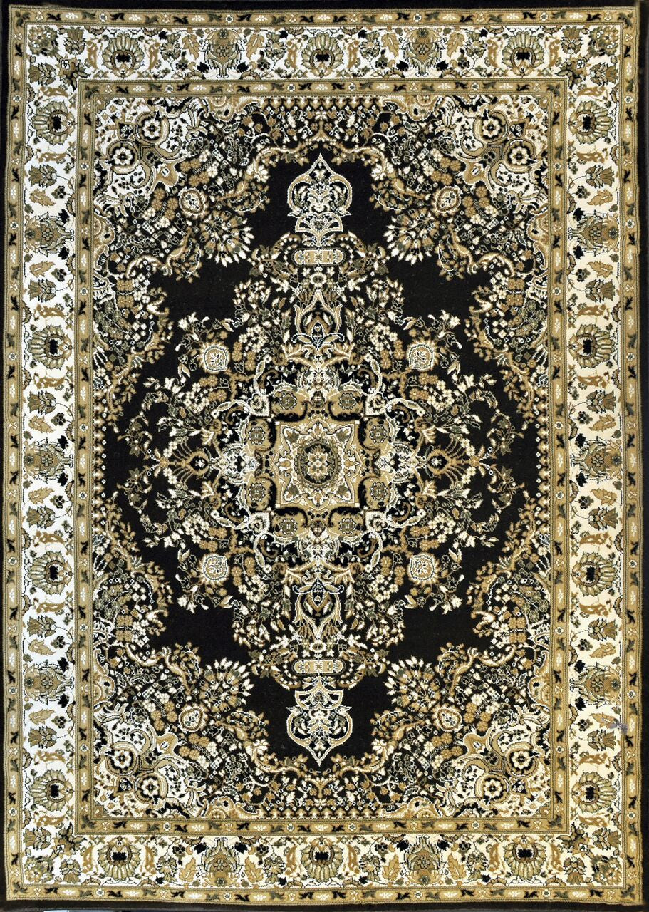 A807 Brown Area Rug - Rug Tycoon