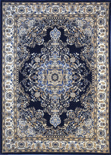 A807 Dark Blue Area Rug - Rug Tycoon