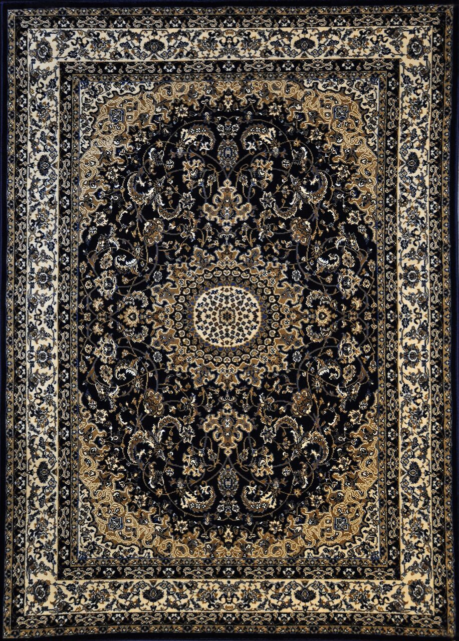 A808 Dark Blue Area Rug - Rug Tycoon