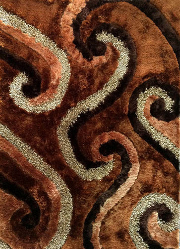 A17 Brown Area Rug - Rug Tycoon