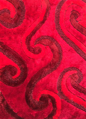 A17 Red Area Rug - Rug Tycoon