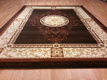 A801 Brown Area Rug - Rug Tycoon