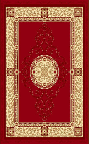 A801 Red Area Rug - Rug Tycoon