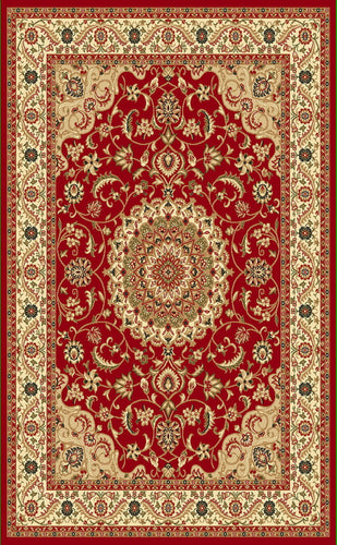 A802 Red Area Rug - Rug Tycoon
