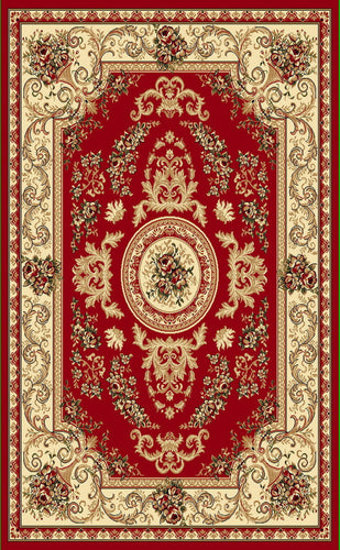 A804 Red Area Rug - Rug Tycoon