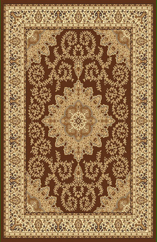 A806 Brown Area Rug - Rug Tycoon