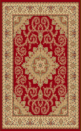A806 Red Area Rug - Rug Tycoon