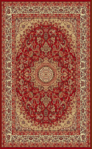 A808 Red Area Rug - Rug Tycoon