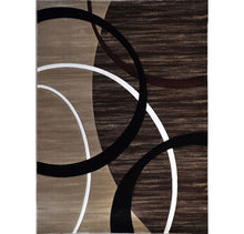 B03 Brown Area Rug - Rug Tycoon