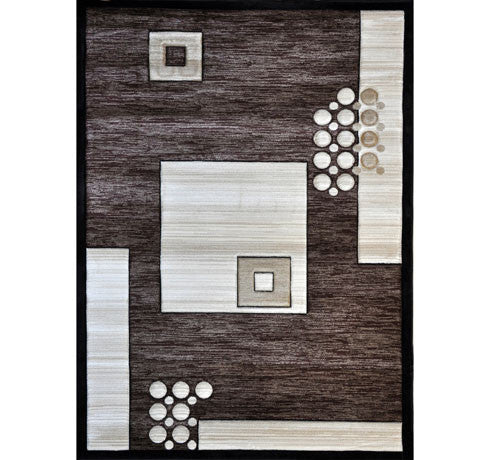 B08 Brown Area Rug