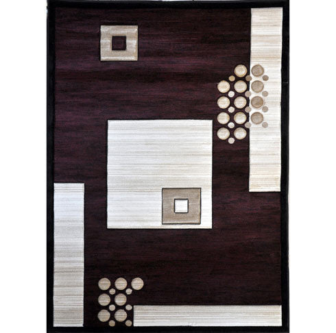 B08 Red Area Rug