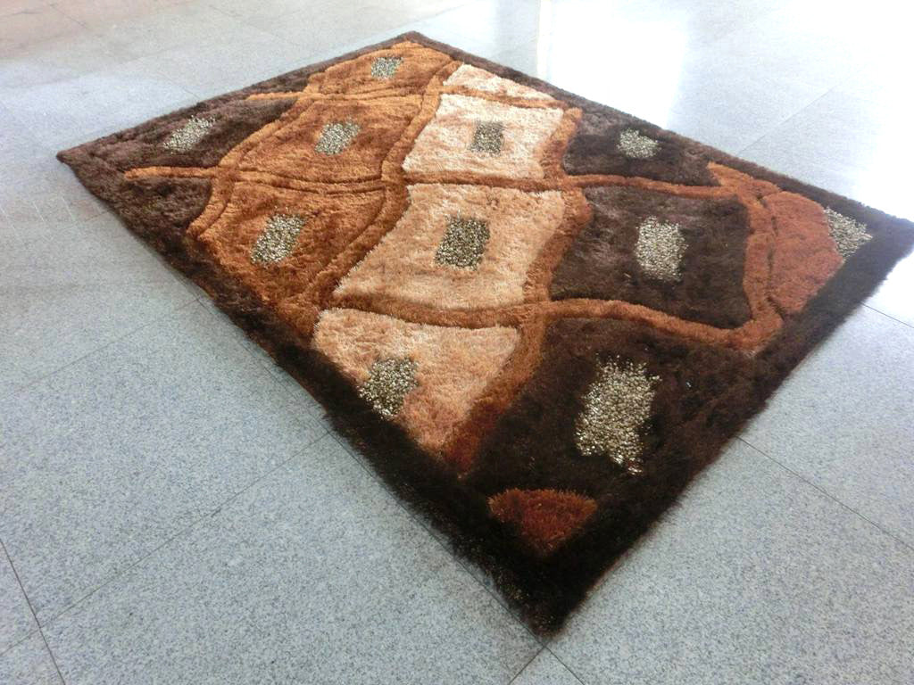 B80 Brown Area Rug - Rug Tycoon