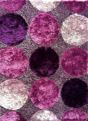B89 Purple Area Rug