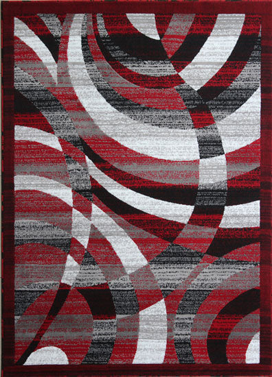 Red/Black Area Rug