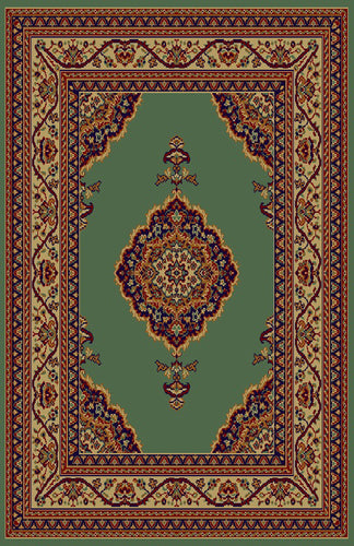 Cecilia Green/Brown Area Rug