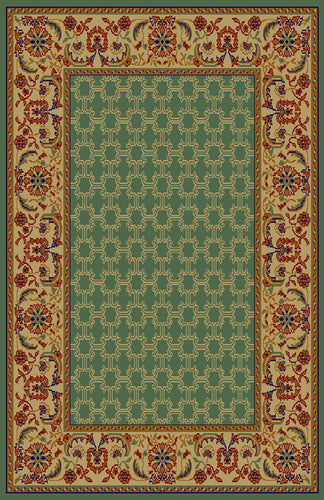 Dana Green/Ivory Area Rug