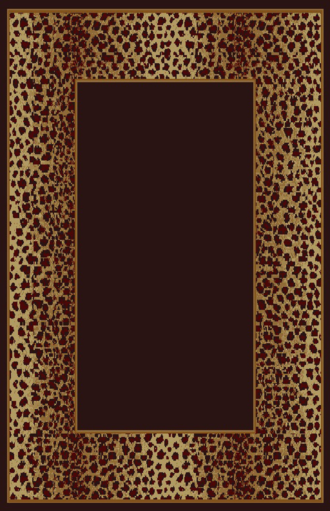 Debora Black/Brown Area Rug