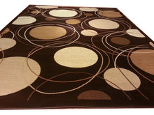 D606 Brown Area Rug - Rug Tycoon