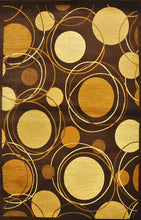 D606 Brown Area Rug