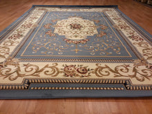 D616 Light Blue Area Rug - Rug Tycoon