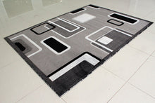 E502 Dark Grey Area Rug - Rug Tycoon