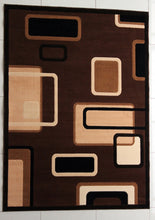 E502 Brown Area Rug