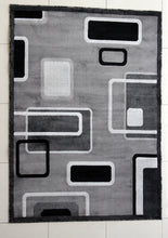 E502 Dark Grey Area Rug