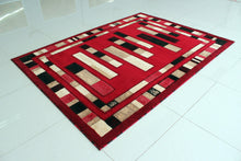 E504 Red Area Rug - Rug Tycoon