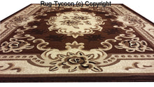 E507 Brown Area Rug - Rug Tycoon