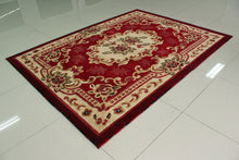E507 Red Area Rug - Rug Tycoon