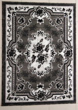 E507 Dark Grey Area Rug