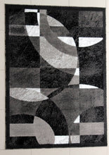 E512 Dark Grey Area Rug