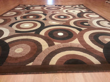 E513 Brown Area Rug - Rug Tycoon