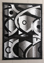 E514 Dark Grey Area Rug