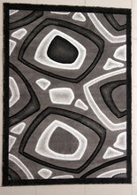 E522 Dark Grey Area Rug